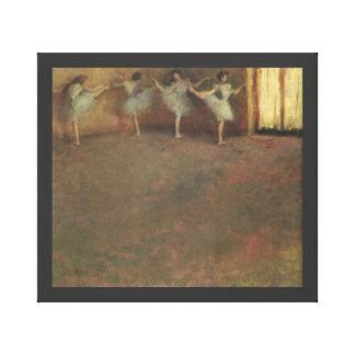 Before the Ballet by Edgar Degas, Vintage Fine Art Canvas Print