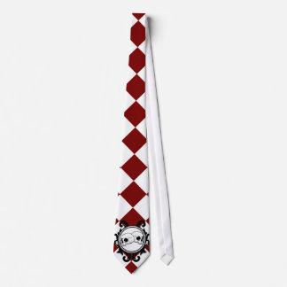 Begird Ivory (Red) Tie