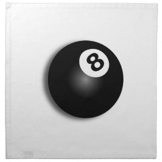 Behind The Eight Ball! Napkin