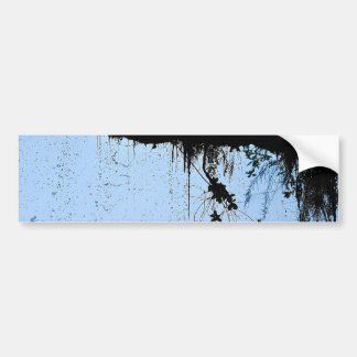 Behind The Waterfall Bumper Sticker