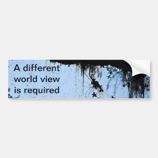 Behind The Waterfall Car Bumper Sticker