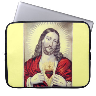 Behold the Christ laptop sleeve