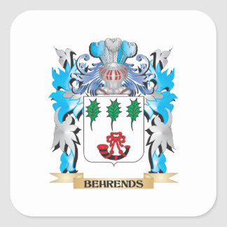 Behrends Coat of Arms Sticker