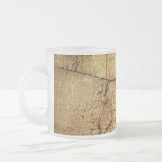 Beige Grunge-Style Mug