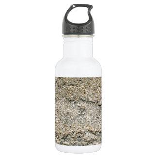 Beige layered stucco 532 ml water bottle