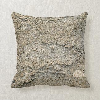 Beige layered stucco cushion