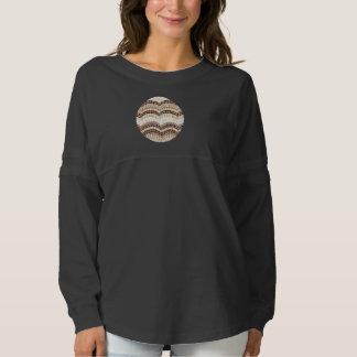 Beige Mosaic Women's Spirit Jersey Shirt