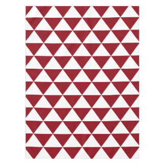 Beige Triangle Pattern Tablecloth