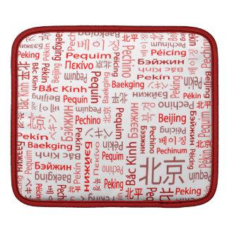 Beijing iPad Sleeve