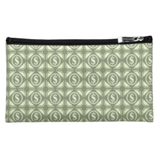 Being Wealthy! Cosmetic Bag light green