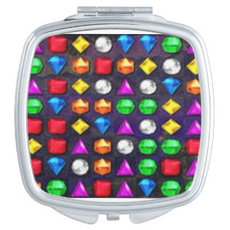 Bejeweled Mirror Makeup Mirrors