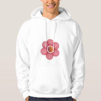 Bel fanm fle hoodie