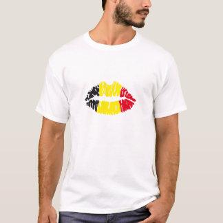 Belgian flag kiss T-Shirt