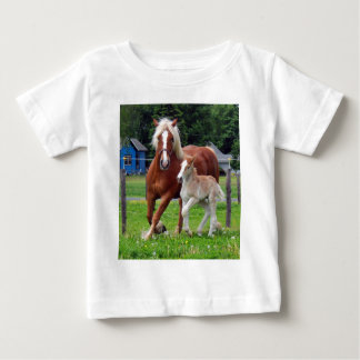 belgian Mare and Filly Baby T-Shirt