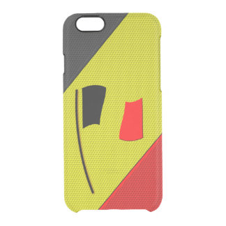 Belgium Clear iPhone 6/6S Case