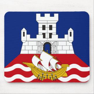 Belgrade flag mouse pad