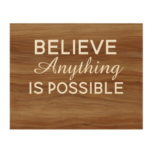 Inspirational Quotes Wood Wall Art Zazzle Co Nz
