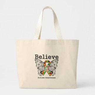 Believe Autism Awareness Bag