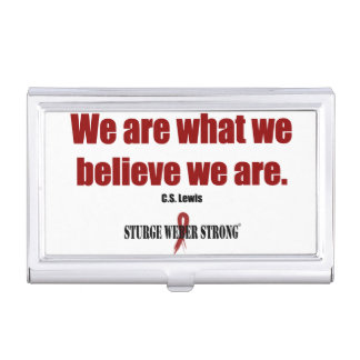 Believe Case For Business Cards