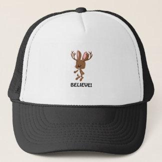 Believe! Cute Jackalope Trucker Hat