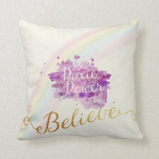 Believe In The Power of Pixies Pillow