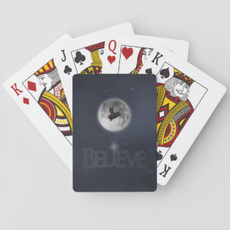 BELIEVE-pigs will fly Playing Cards