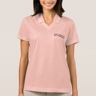 Believe you can and you're halfway there polo shirt