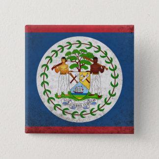 Belize 15 Cm Square Badge