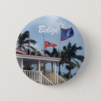 Belize 6 Cm Round Badge