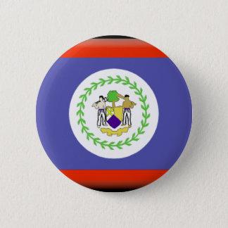 Belize Flag 6 Cm Round Badge