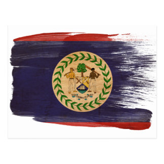 Belize Flag Postcards