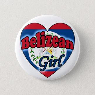 Belizean Girl 6 Cm Round Badge