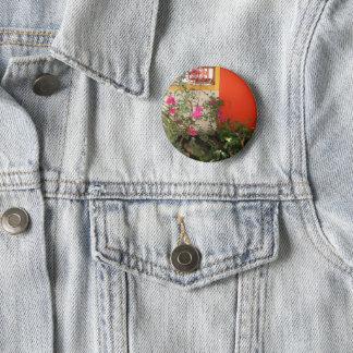 Belizian Blooms 6 Cm Round Badge