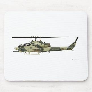 Bell AH-1W Super Cobra Mouse Pad