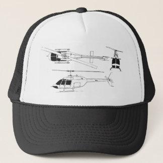Bell Jet Ranger / TH- Trucker Hat