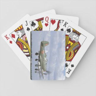Bell P39 Airacobra, P63 King Cobra_WWII Planes Playing Cards