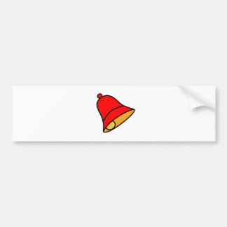 Bell Red 45 deg The MUSEUM Zazzle Gifts Bumper Stickers
