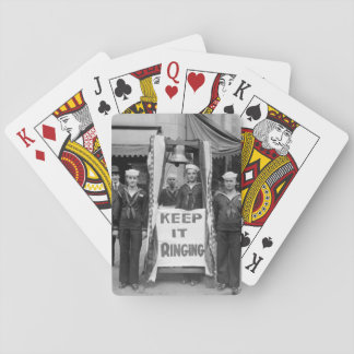 Bell ringers on Seattle, Wash_War image Playing Cards