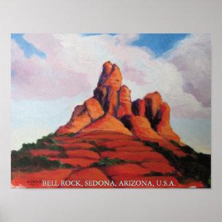 Bell Rock, Sedona, Arizona, USA Poster