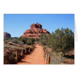 Bell Rock Trail II Greeting Card