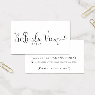 Belle La Vie Custom Business Cards