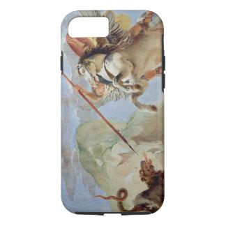 Bellerophon, riding Pegasus, slaying the Chimaera, iPhone 8/7 Case
