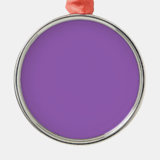 Bellflower Solid Color. Chic Fashion Color Trend Ornaments