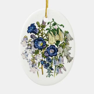 Bellflowers Christmas Ornament