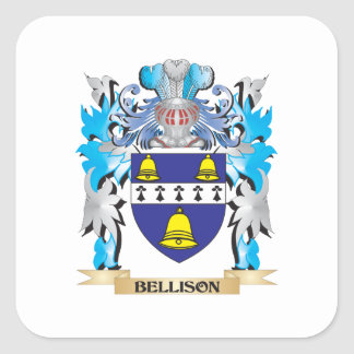 Bellison Coat of Arms Square Sticker