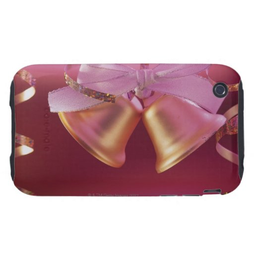 Bells for wedding or New Year's eve Tough iPhone 3 Case