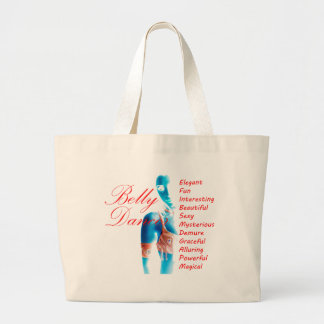 Belly Dancer - Attributes - Large Tote