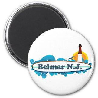 Belmar. 6 Cm Round Magnet