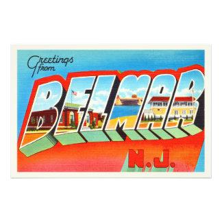 Belmar New Jersey NJ Old Vintage Travel Postcard- Photograph