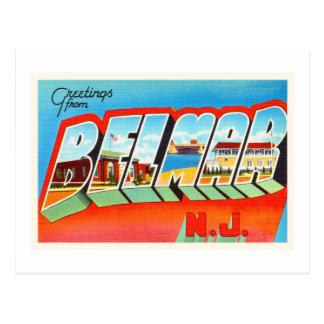 Belmar New Jersey NJ Old Vintage Travel Postcard- Postcard